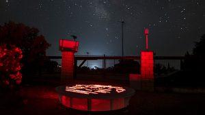 jornadas de arte y observación astronómica en la Finca la Cocosa, Badajoz.