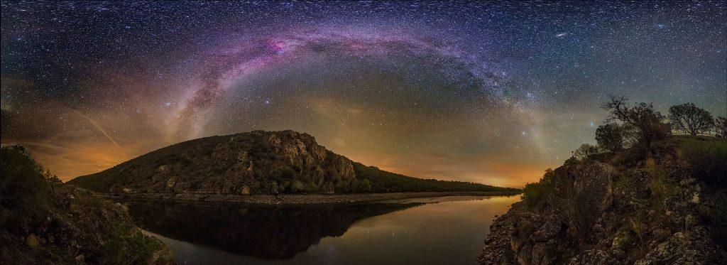 parque nacional de monfrague extremadura buenas noches